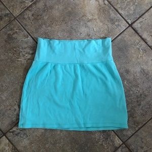 American Apparel Cotton Mini Skirt